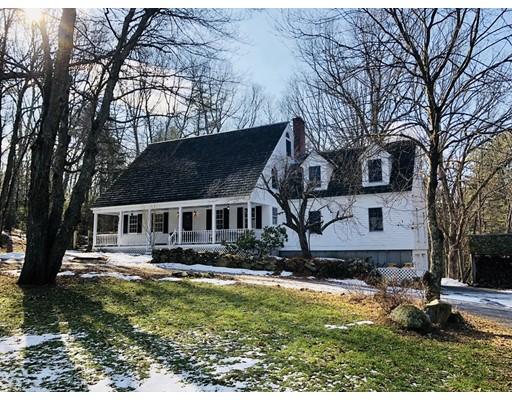 Single Family Home for Sale at 54 Nason Hill Road 54 Nason Hill Road Sherborn, Massachusetts 01770 United States