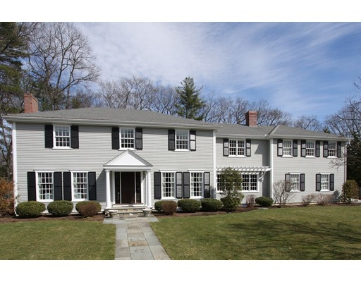 Single Family Home for Sale at 30 Cornell Road Wellesley, Massachusetts 02482 United States
