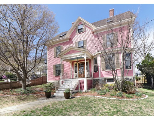 Single Family Home for Sale at 81 Walnut Street Arlington, Massachusetts 02476 United States