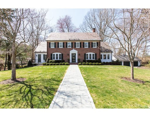 Single Family Home for Sale at 43 Whiting Road Wellesley, Massachusetts 02481 United States