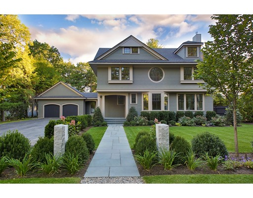 Single Family Home for Sale at 143 Neshobe Road Newton, Massachusetts 02468 United States