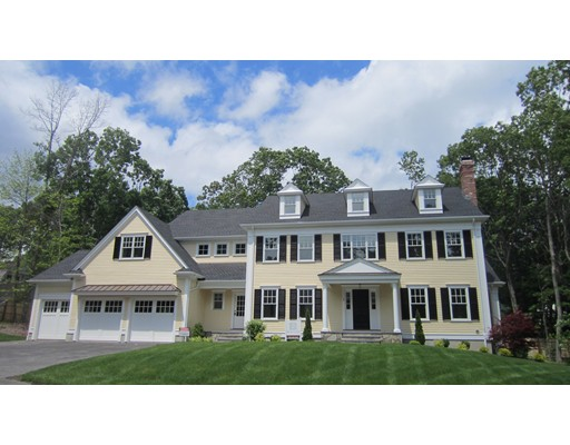 Single Family Home for Sale at 3 Trinity Court Wellesley, Massachusetts 02481 United States