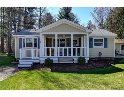 Maison unifamiliale pour l Vente à 27 Lakeshore Drive Holland, Massachusetts 01521 États-Unis