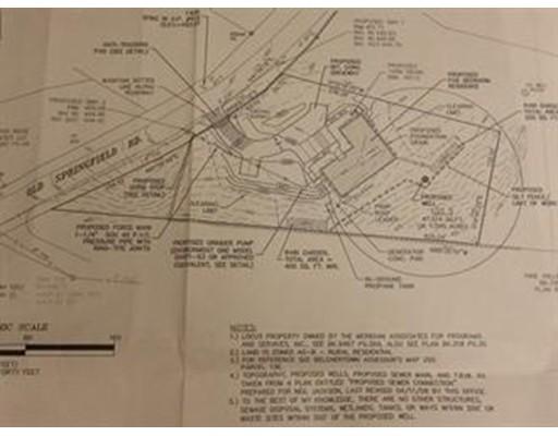 土地 为 销售 在 345 Springfield Road 贝尔彻敦, 马萨诸塞州 01007 美国