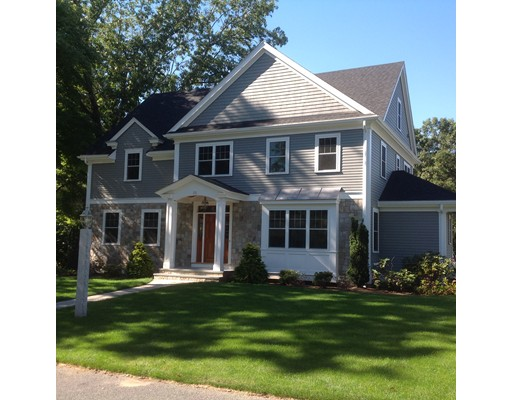Single Family Home for Sale at 35 Marshall Road Wellesley, Massachusetts 02482 United States