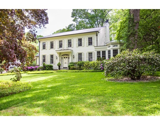 Single Family Home for Sale at 65 Arnold Road Wellesley, Massachusetts 02481 United States
