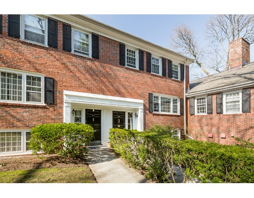 Condominium for Sale at 23 Carlton Street Brookline, Massachusetts 02446 United States