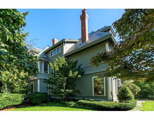Single Family Home for Sale at 14 Allerton Street Brookline, Massachusetts 02445 United States