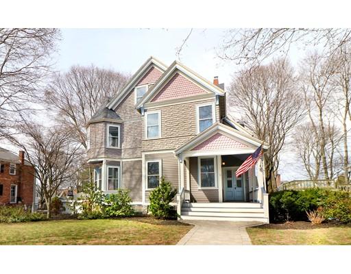 Частный односемейный дом для того Продажа на 18 Bellevue Avenue Melrose, Массачусетс 02176 Соединенные Штаты