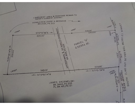 Land for Sale at South Street Chesterfield, Massachusetts 01012 United States