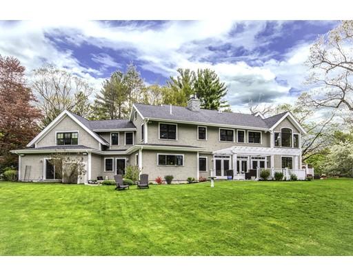 Maison unifamiliale pour l Vente à 1302 South Street 1302 South Street Needham, Massachusetts 02492 États-Unis