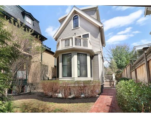 Частный односемейный дом для того Продажа на 122 Oxford Cambridge, Массачусетс 02138 Соединенные Штаты