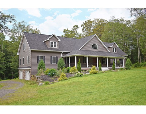Casa Unifamiliar por un Venta en 18 Popple Camp Road Petersham, Massachusetts 01366 Estados Unidos