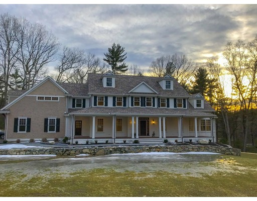 Single Family Home for Sale at 28 Greystone Road 28 Greystone Road Dover, Massachusetts 02030 United States