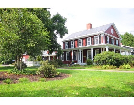 Single Family Home for Sale at 121 North Main Street Sunderland, Massachusetts 01375 United States