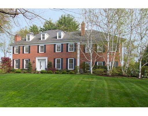 Частный односемейный дом для того Продажа на 30 Cedar Road 30 Cedar Road Weston, Массачусетс 02493 Соединенные Штаты