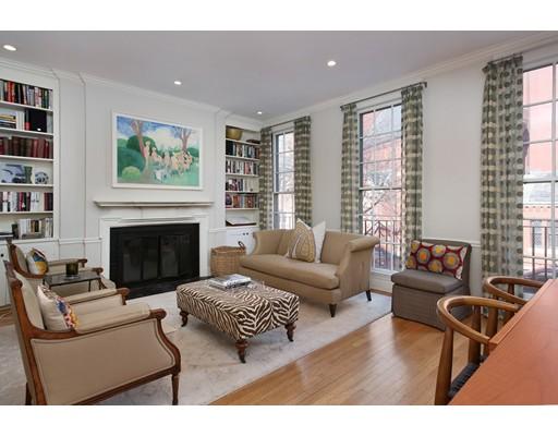 Maison unifamiliale pour l à louer à 144 Mount Vernon St #TH Boston, Massachusetts 02108 États-Unis
