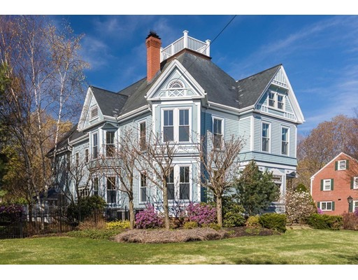 Single Family Home for Sale at 293 High Street 293 High Street Newburyport, Massachusetts 01950 United States