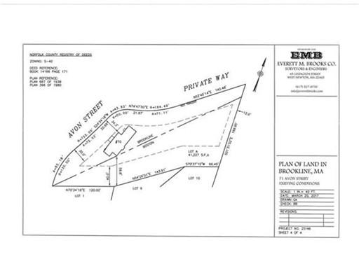 Additional photo for property listing at 71 Avon Street  Brookline, Massachusetts 02445 Estados Unidos