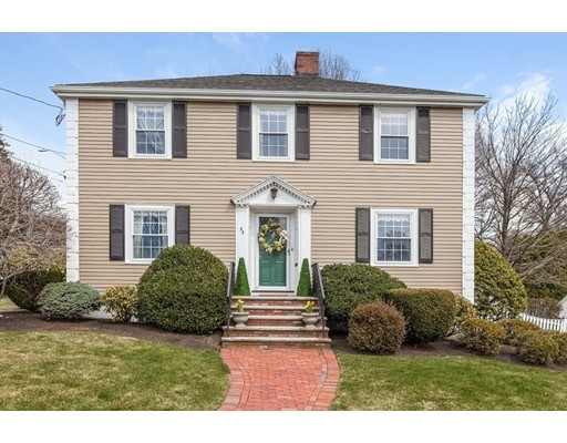 Casa Unifamiliar por un Venta en 33 Orchard Lane Melrose, Massachusetts 02176 Estados Unidos