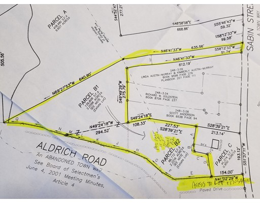 土地 为 销售 在 Parcel B1 B2 Sabin Street 贝尔彻敦, 马萨诸塞州 01007 美国