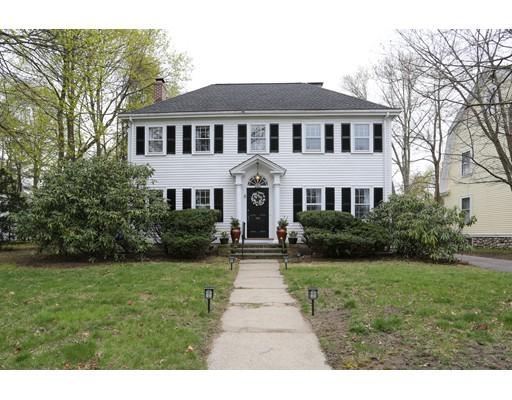 Single Family Home for Sale at 1214 GREAT PLAIN Avenue Needham, Massachusetts 02492 United States