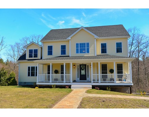 Single Family Home for Sale at 25 Bridle Path Plainville, Massachusetts 02762 United States