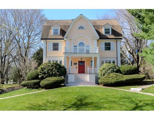 Single Family Home for Sale at 54 Irving Street Arlington, Massachusetts 02476 United States