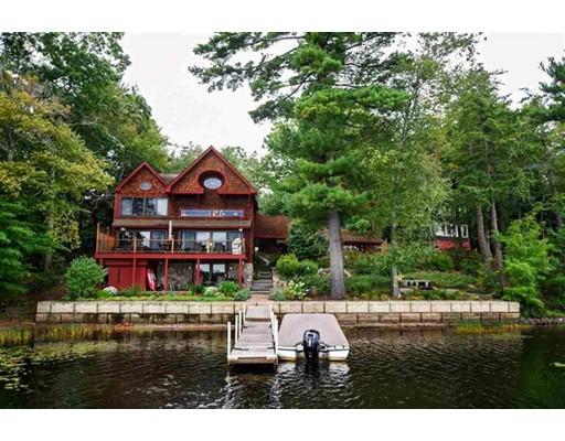 独户住宅 为 销售 在 27 Wadleigh Point Road Kingston, 新罕布什尔州 03848 美国