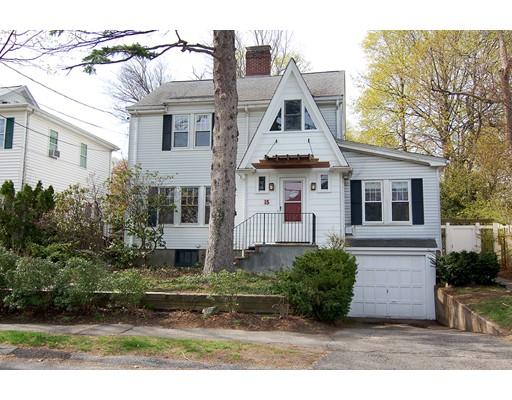 Single Family Home for Sale at 15 Hawthorne Avenue Arlington, Massachusetts 02476 United States