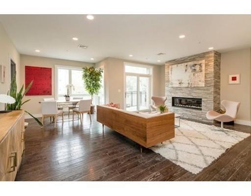Condominio por un Venta en 266 Beacon Street 266 Beacon Street Somerville, Massachusetts 02143 Estados Unidos