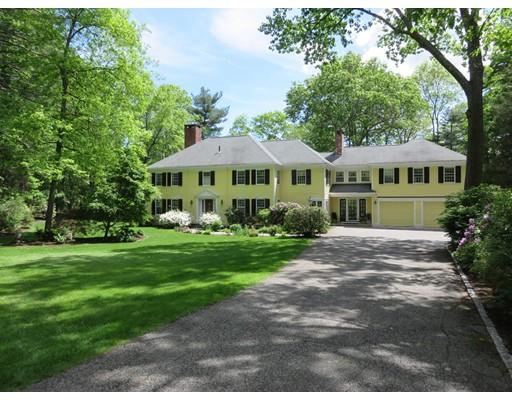 独户住宅 为 销售 在 38 Round Hill Road 林肯, 马萨诸塞州 01773 美国