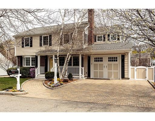 独户住宅 为 销售 在 24 Dickson Avenue 阿灵顿, 马萨诸塞州 02474 美国