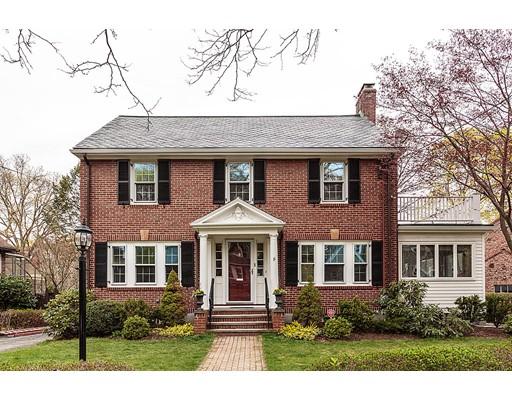 Casa Unifamiliar por un Venta en 11 Ivy Road Belmont, Massachusetts 02478 Estados Unidos