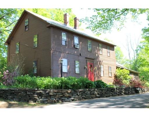 Casa Unifamiliar por un Venta en 16 Baptist Hill Road 16 Baptist Hill Road Conway, Massachusetts 01341 Estados Unidos