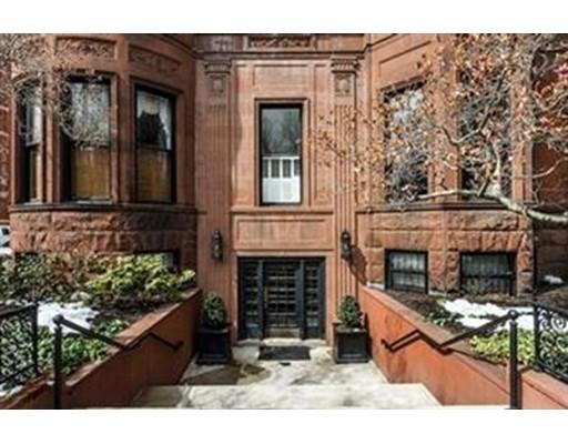 Casa Unifamiliar por un Alquiler en 239 Commonwealth Avenue Boston, Massachusetts 02116 Estados Unidos