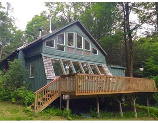 Single Family Home for Sale at 23 Mountain View Drive Charlemont, Massachusetts 01339 United States