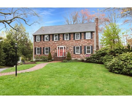 Casa Unifamiliar por un Venta en 34 Eisenhower Circle Wellesley, Massachusetts 02482 Estados Unidos