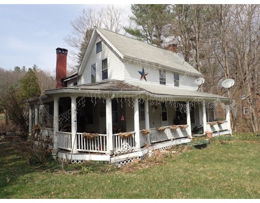 Single Family Home for Sale at 117 Main Street Wales, Massachusetts 01081 United States