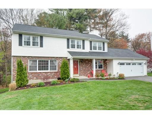 Частный односемейный дом для того Продажа на 9 Thornton Drive Burlington, Массачусетс 01803 Соединенные Штаты