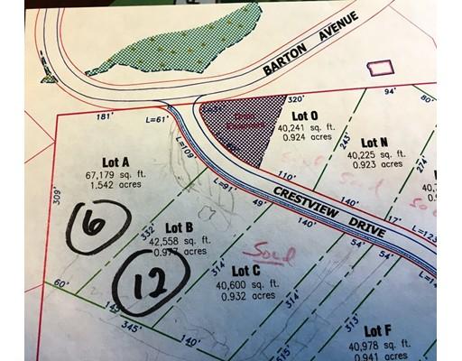 Lot A + B Crestview Drive, Belchertown, MA 01007