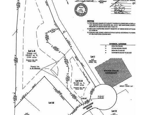 Lot K-R Crestview Dr, Belchertown, MA 01007