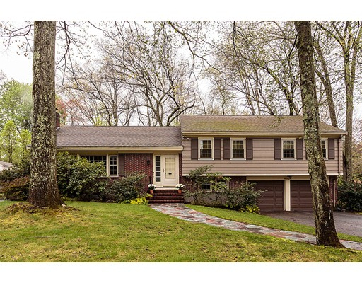 Single Family Home for Sale at 76 Wellesley Road Belmont, Massachusetts 02478 United States