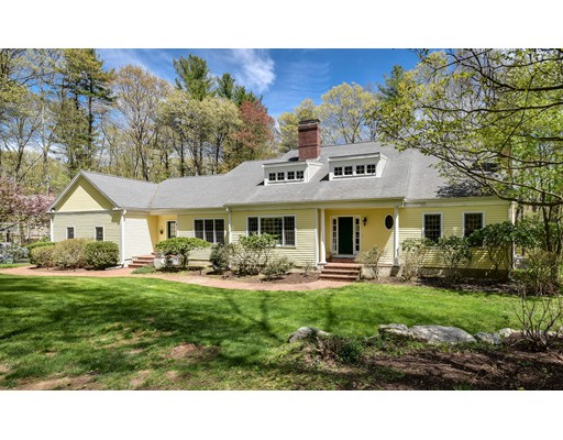 Single Family Home for Sale at 21 Greenwood Street Sherborn, Massachusetts 01770 United States