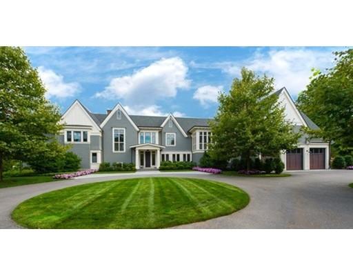 Maison unifamiliale pour l Vente à 80 Highland Street 80 Highland Street Weston, Massachusetts 02493 États-Unis