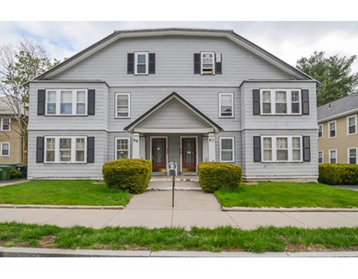 Multi-Family Home for Sale at 67 Palfrey Street Watertown, Massachusetts 02472 United States