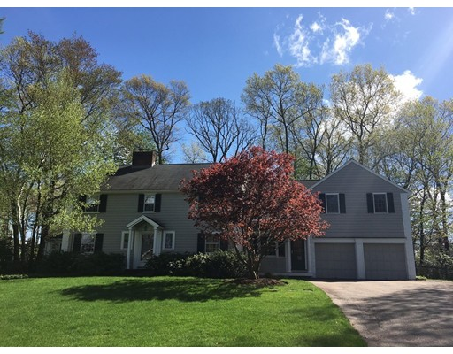 Single Family Home for Rent at 23 Westwood Road Wellesley, Massachusetts 02482 United States