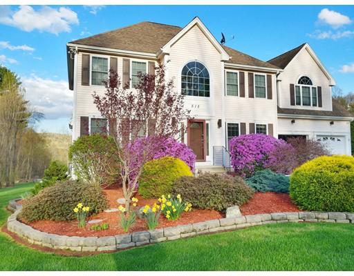 واحد منزل الأسرة للـ Sale في 515 Oakham Road Barre, Massachusetts 01005 United States