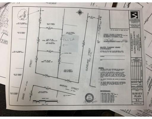 土地 为 销售 在 Davis Street 莫尔登, 02148 美国