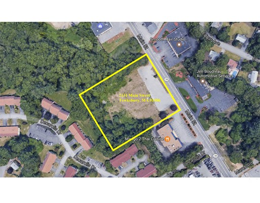 Land for Sale at 2131 Main Street 2131 Main Street Tewksbury, Massachusetts 01876 United States